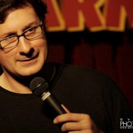 "Economopoulos, the ""biggest name in comedy"""