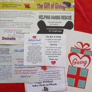 Alternative Giving Fairs are a great place to teach kids about giving