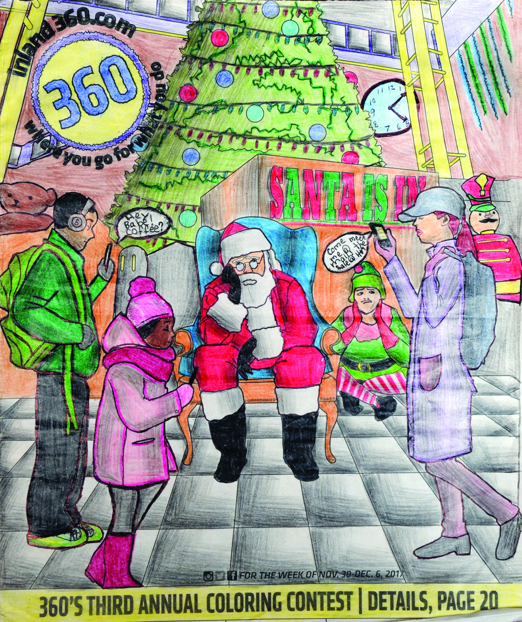 2017 Coloring contest winners announced   Inland 360