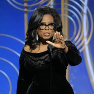 Oprah, 'Three Billboards' triumph at black-draped Globes
