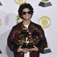 Bruno Mars has a magical night at Grammys