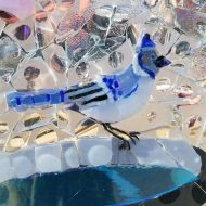 Collage of glass: Pullman glass artist creates beauty from what's broken