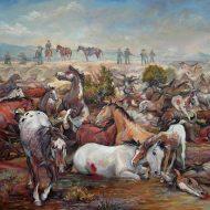 The Inland NW frontier battle paintings of Nona Hengen