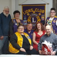Lewiston Lions Club Valentine's Day meeting