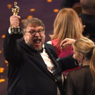 'Shape of Water' triumphs at an Oscars awash in change
