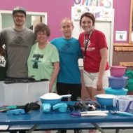 Tupperware helps the Boys and Girls Club