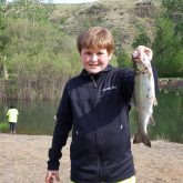 Webster Elementary whopper caught at Head Gate Pond