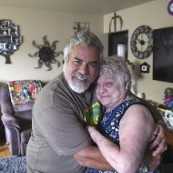 Mother and son reunited after 57 years by DNA test kit