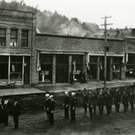 Party for Peace: Potlatch literally burned its streets to celebrate the end of World War I