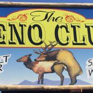 Sign depicting amorous elk raises questions