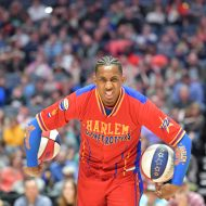 Globetrotting giants: Harlem Globetrotters visit Lewiston & Pullman