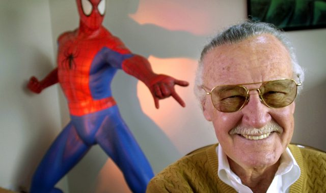 Thanking Stan Lee for his heroes